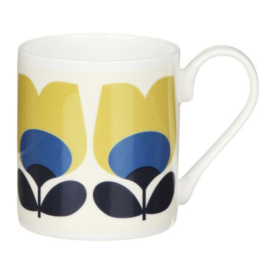 Blue Tulip Small Mug