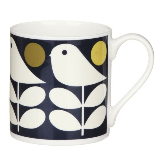 Navy Early Bird Large Mug