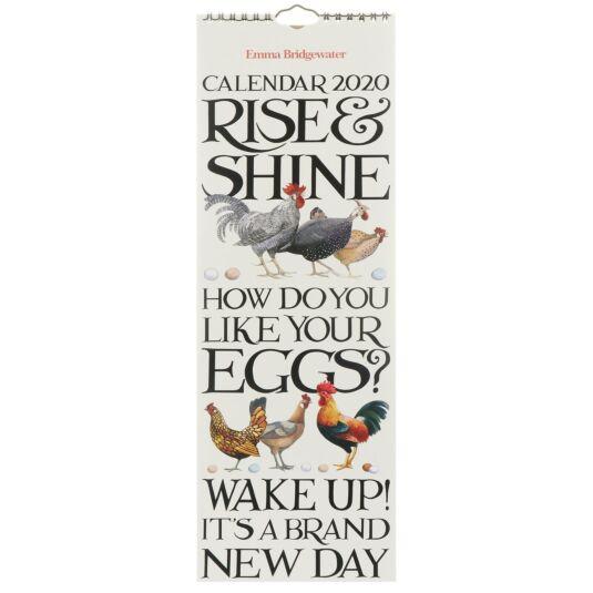 Rise & Shine 2020 Slim Calendar