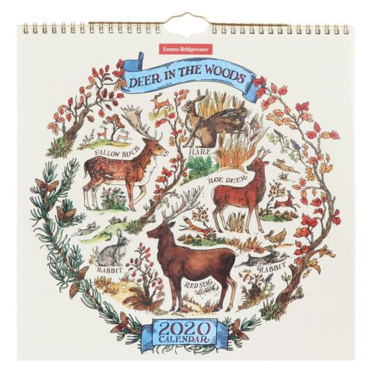 Deer in the Woods 2020 Wall Calendar