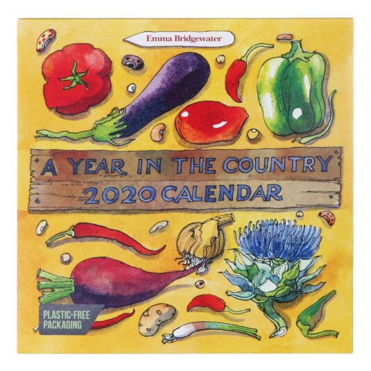 Matthew Rice Year in the Country 2020 Wall Calendar