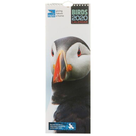 RSPB Birds 2020 Slim Calendar