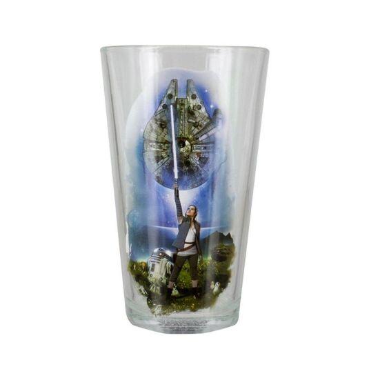 The Last Jedi Glass