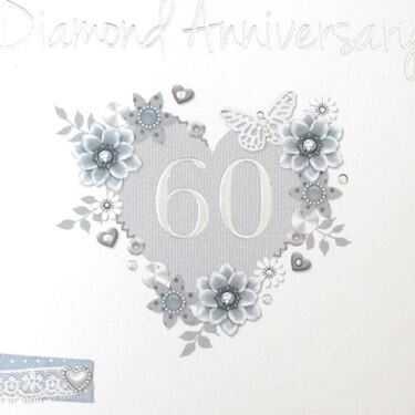 60th Wedding Anniversary Card | CampusGifts.