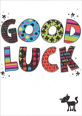 Bangers & Flash Good Luck Card