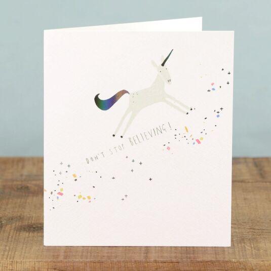 Marshmallow 'Unicorn' Card