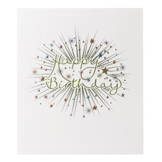 Mimosa 'Happy Birthday' Card