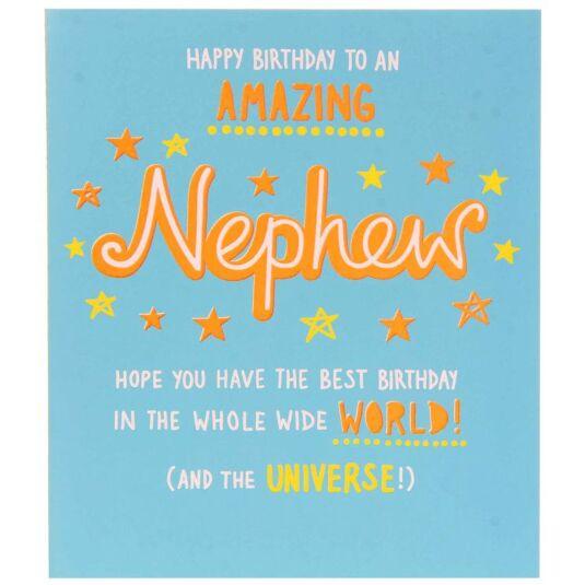 Paperlink Epic Nephew Birthday Card – Birthday Card Nephew