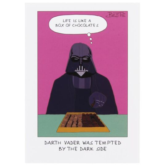Bestie Dark Side Card