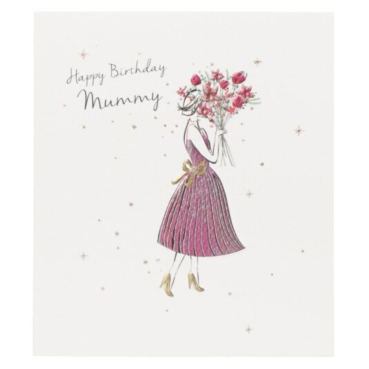 'Happy Birthday Mummy' Card