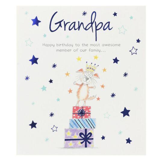 'Grandpa' Birthday Card