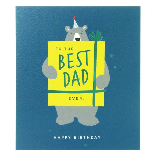 'Best Dad Ever' Birthday Card