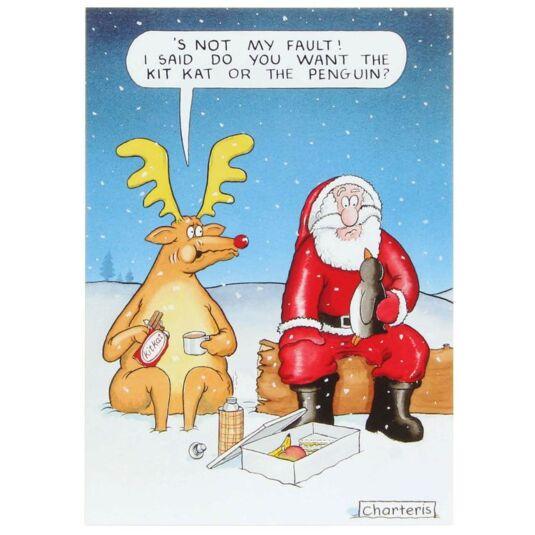 Santa & Co Kit Kat Christmas Card