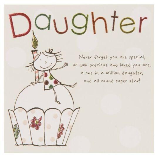 Paperlink Tinklers DAUGHTER Birthday Card
