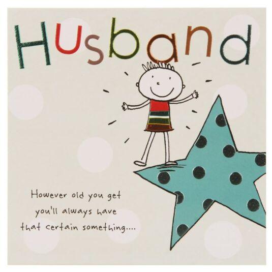 Paperlink Tinklers HUSBAND Birthday Card