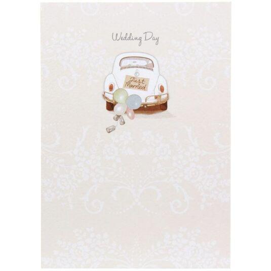 Trinket Box Wedding Day Card