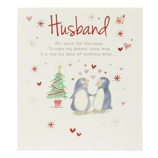 Husband Christmas Card