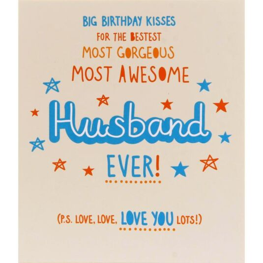 Epic Awesome Husband Birthday Card