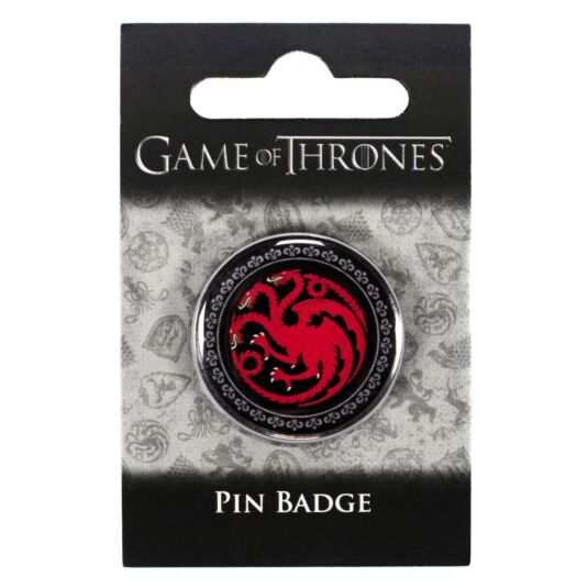 House Targaryen Pin Badge