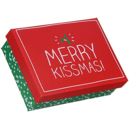 Merry Kissmas Small Christmas Gift Box