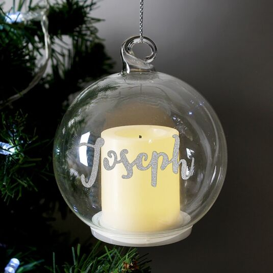 Christmas LED Candle Bauble