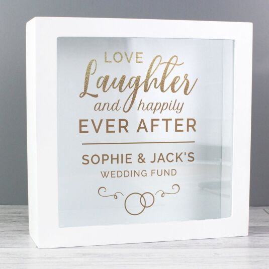 Personalised 'Happily Ever After' Fund Box