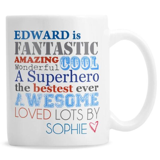 Personalised He is… Mug