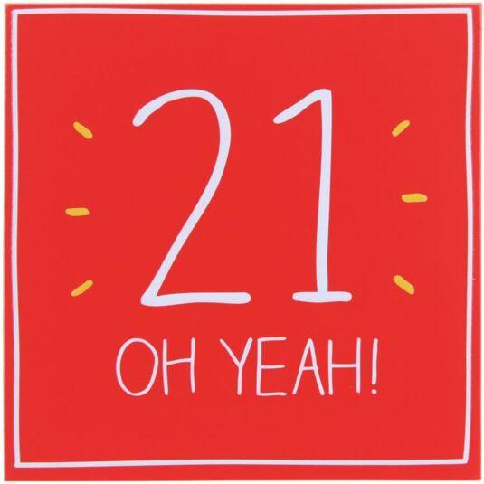 21 Oh Yeah! Card