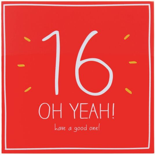 16 Oh Yeah! Have a Good One! Card