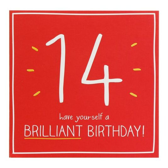 14 Brilliant Birthday! Card