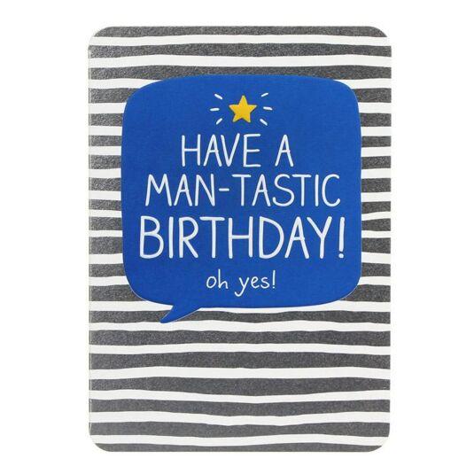 Man-tastic Birthday! Card