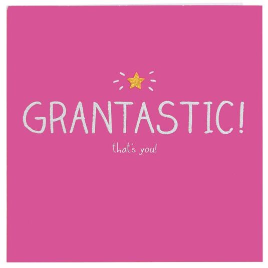 Grantastic! Card