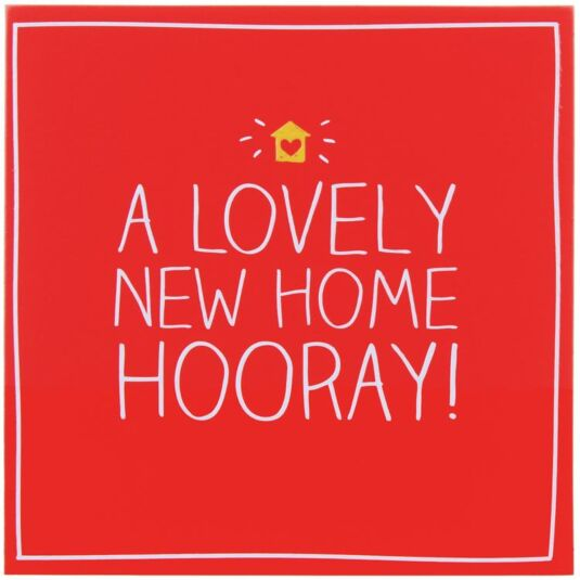 A Lovely New Home Hooray! Card