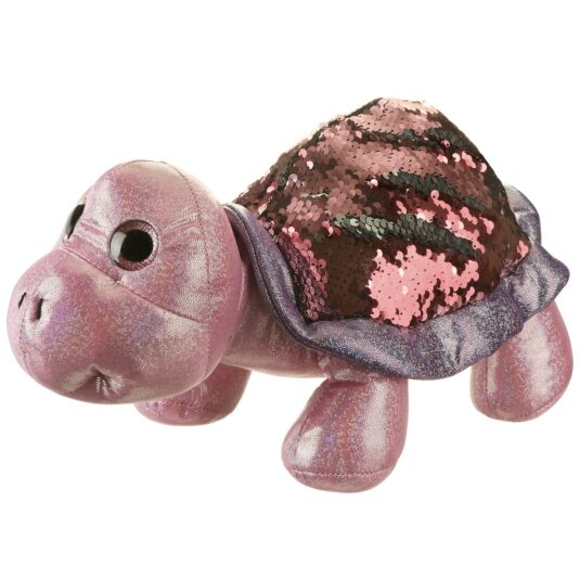 Sequin Glitzies Large Pink and Purple Turtle