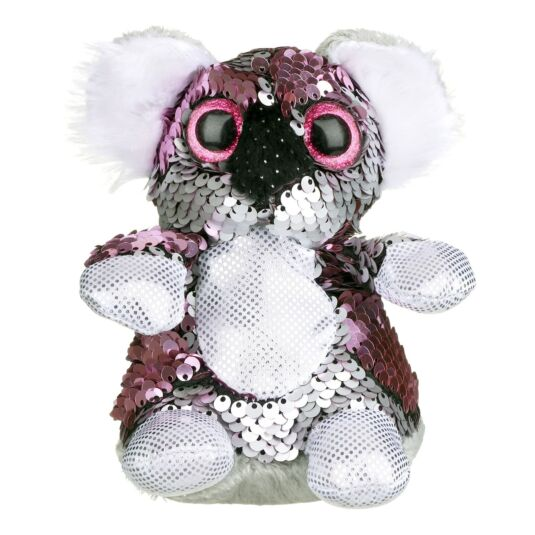 Goshie Glitzies Small Pink and Silver Koala