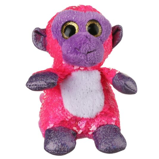 Sequin Glitzies Small Pink and Purple Monkey