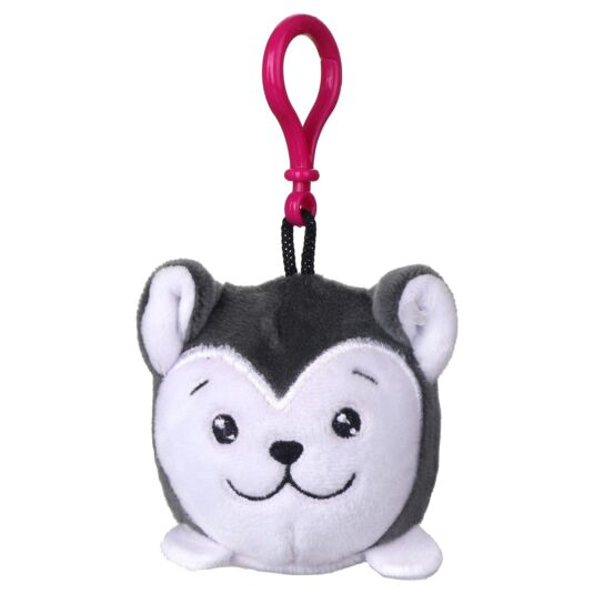 Squishimi Scented Husky Key Clip