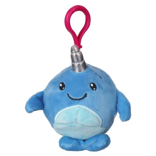 Squishimi Scented Narwhal Key Clip