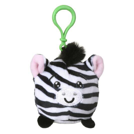 Squishimi Scented Zebra Key Clip