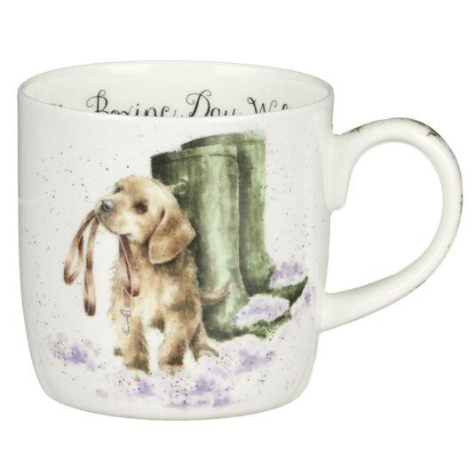'The Boxing Day Walk' Dog Mug