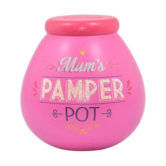 'Mum's Pamper Pot' Money Pot