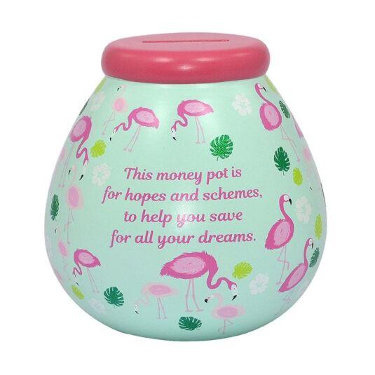 Flamingo Money Pot