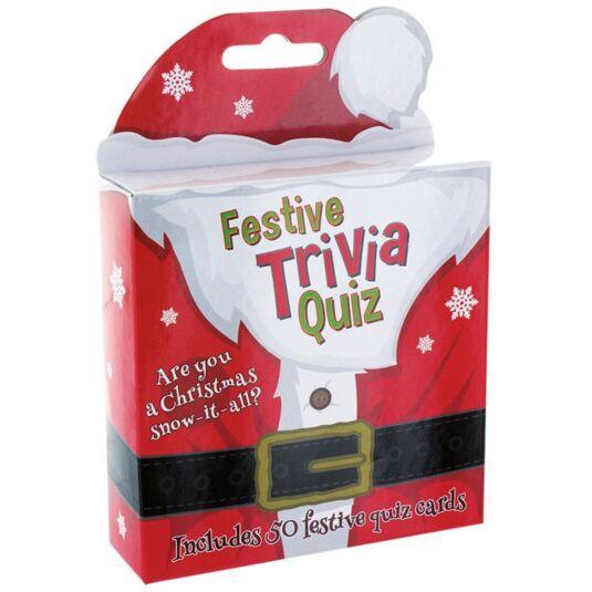 Festive Trivia Quiz Game