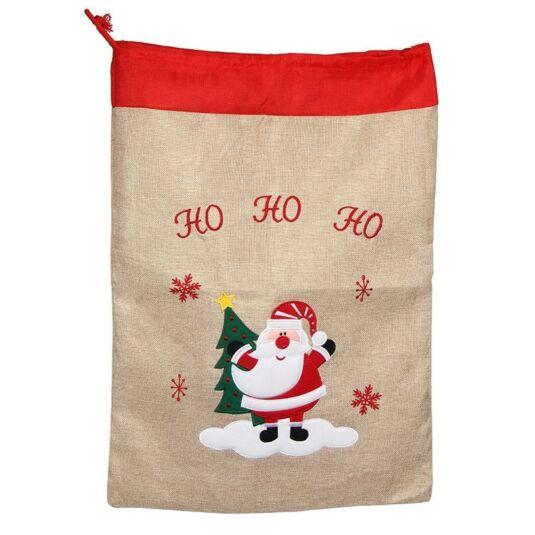 Christmas Jute Santa Sacks