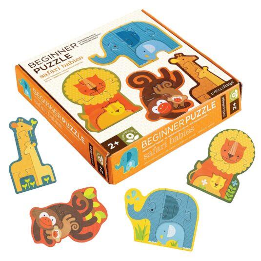 Beginner Puzzle – Safari Babies