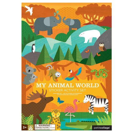 Sticker Activity Set – My Animal World