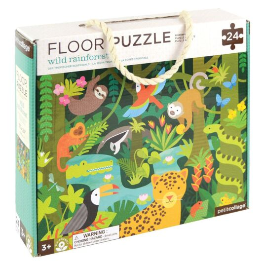 Floor Puzzle – Wild Rainforest