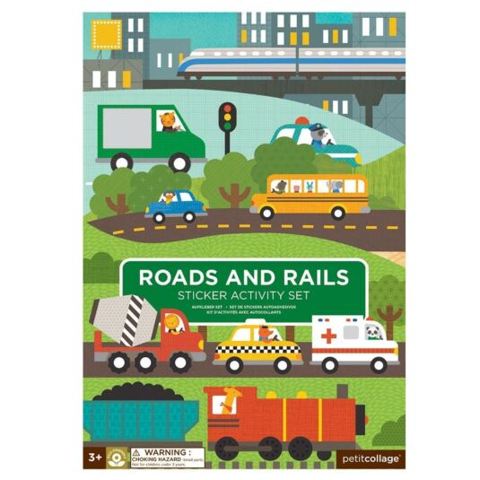 Sticker Activity Set – Road and Rails