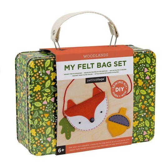 Felt Bag DIY Sewing Kit - Woodlands