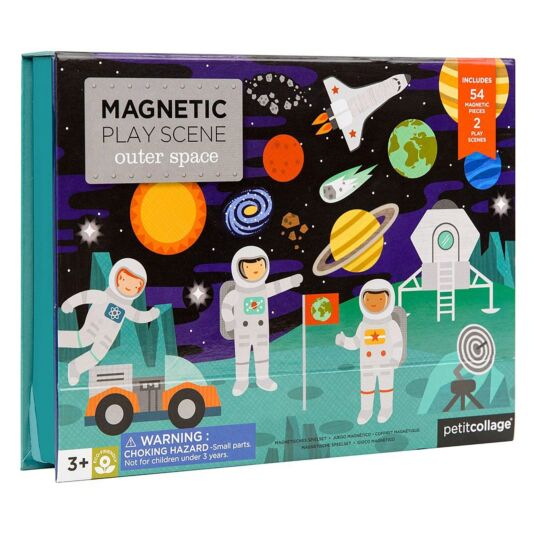 Magnetic Play Scene – Outer Space